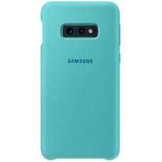 Чехол для Samsung Galaxy S10E Soft Touch бирюзовый