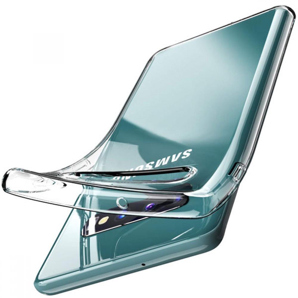 Чехол для Samsung Galaxy S10+ силиконовый прозрачный