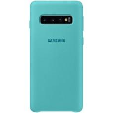 Чехол для Samsung Galaxy S10 Soft Touch бирюзовый