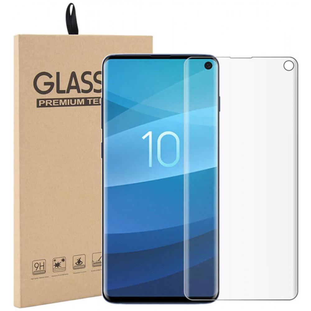 Пленка для Samsung Galaxy S10 с полной проклейкой