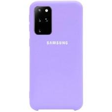 Чехол для Samsung Galaxy S20 Plus Soft Touch лиловый