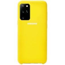 Чехол для Samsung Galaxy S20 Plus Soft Touch желтый