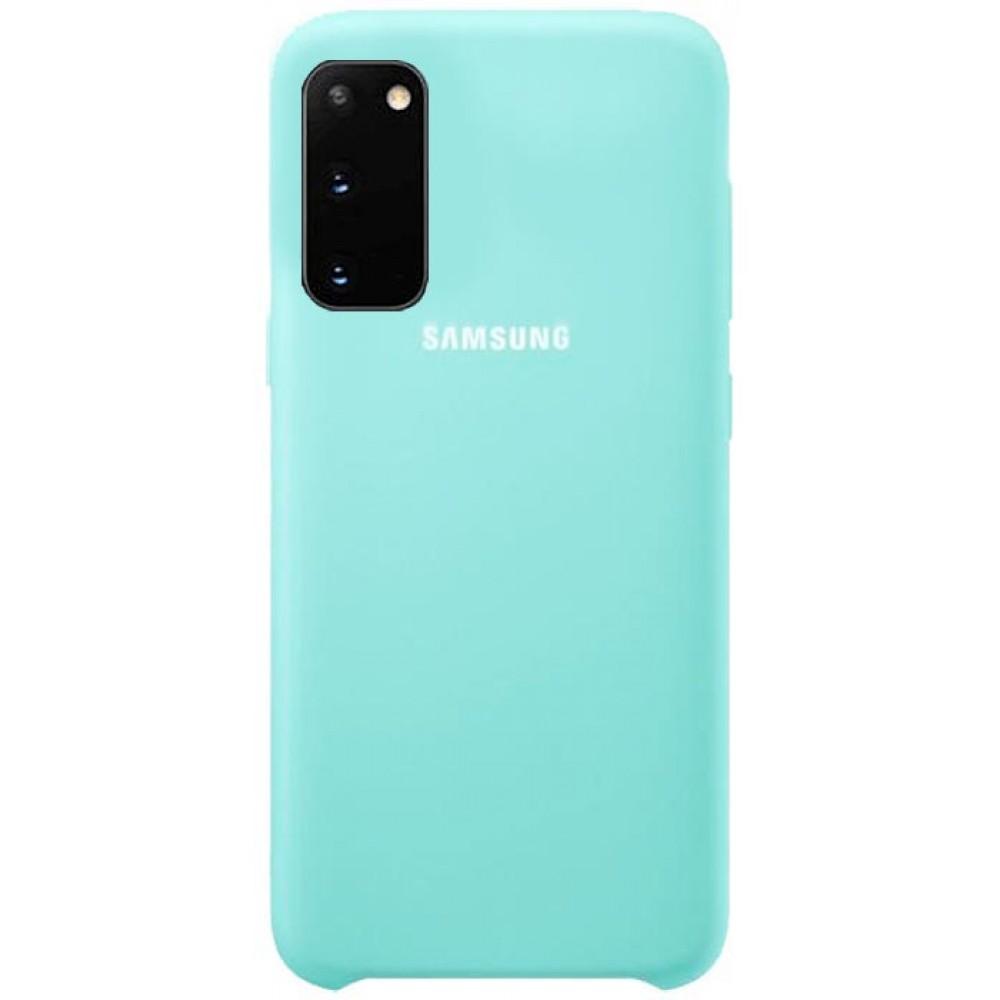 Чехол для Samsung Galaxy S20 Soft Touch бирюзовый