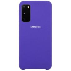 Чехол для Samsung Galaxy S20 Soft Touch фиолетовый