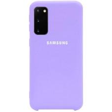 Чехол для Samsung Galaxy S20 Soft Touch лиловый