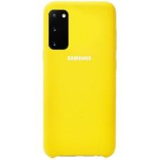 Чехол для Samsung Galaxy S20 Soft Touch желтый