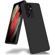 Чехол для Samsung Galaxy S21 Ultra Brono Case черный
