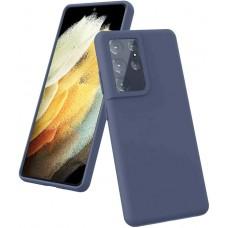 Чехол для Samsung Galaxy S21 Ultra Brono Case синий
