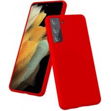 Чехол для Samsung Galaxy S21 Plus Brono Case красный
