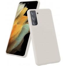 Чехол для Samsung Galaxy S21 Brono Case белый