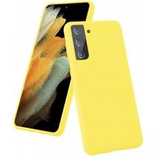 Чехол для Samsung Galaxy S21 Plus Brono Case желтый