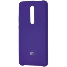 Чехол для Xiaomi Mi 9T Pro Soft Touch фиолетовый