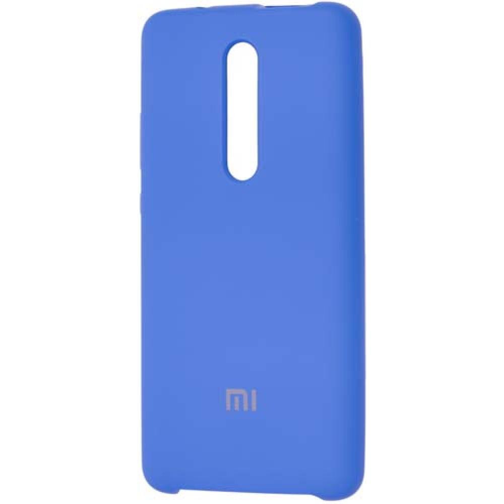 Чехол для Xiaomi Mi 9T Soft Touch светло-синий