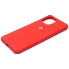 Чехол для Xiaomi Mi 11 Lite 4G Soft Touch красный