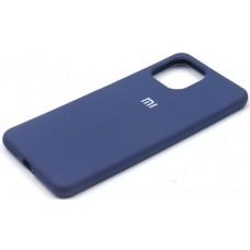 Чехол для Xiaomi Mi 11 Lite 4G Soft Touch синий