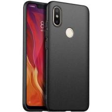 Чехол для Xiaomi Mi 8 силиконовый черный