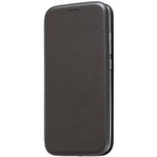 Чехол на Xiaomi Redmi 6 Pro кожаный черный