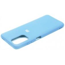 Чехол для Xiaomi Redmi Note 104G / Redmi Note 10s Soft Touch голубой