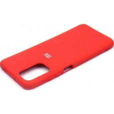 Чехол для Xiaomi Redmi Note 104G / Redmi Note 10s Soft Touch красный
