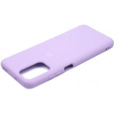 Чехол для Xiaomi Redmi Note 104G / Redmi Note 10s Soft Touch лиловый