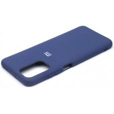 Чехол для Xiaomi Redmi Note 104G / Redmi Note 10s Soft Touch синий