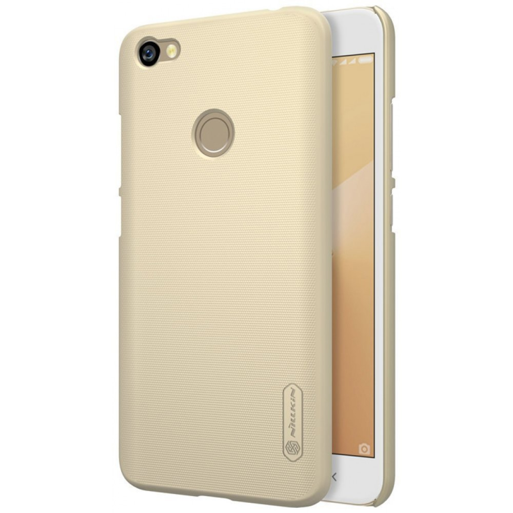 Чехол для Xiaomi Redmi Note 5A Prime Nillkin Super Frosted Shield золотой
