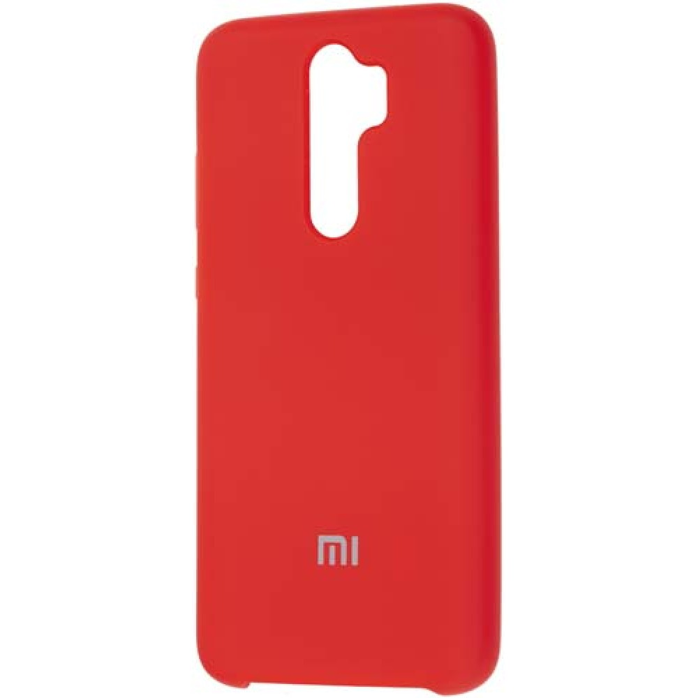Чехол для Xiaomi Redmi Note 8 Pro Soft Touch красный