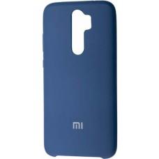 Чехол для Xiaomi Redmi Note 8 Pro Soft Touch синий