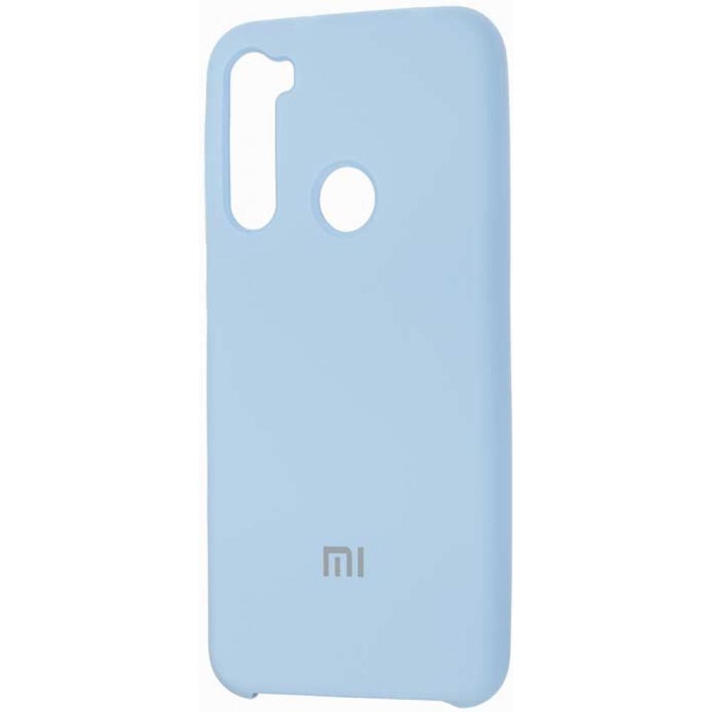 Чехол для Xiaomi Redmi Note 8 Soft Touch голубой