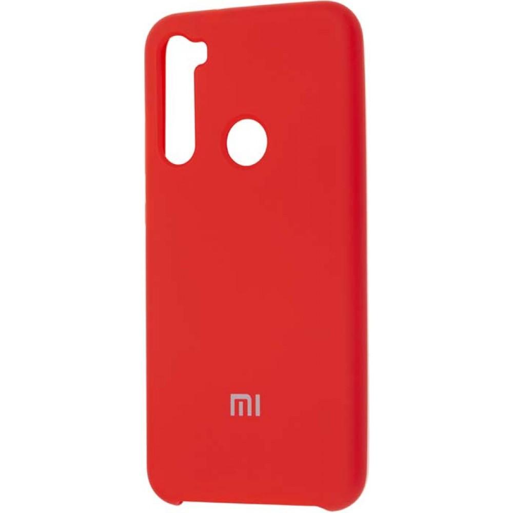 Чехол для Xiaomi Redmi Note 8 Soft Touch красный