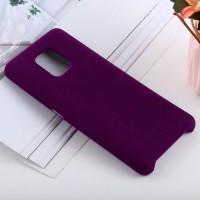 Чехол для Xiaomi Redmi Note 9S / Redmi Note 9 Pro Soft Touch фиолетовый