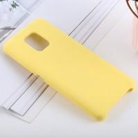 Чехол для Xiaomi Redmi Note 9S / Redmi Note 9 Pro Soft Touch желтый