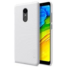 Чехол для Xiaomi Redmi 5 Plus белый Nillkin Super Frosted Shield