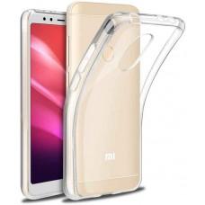Чехол для Xiaomi Redmi 5 Plus прозрачный