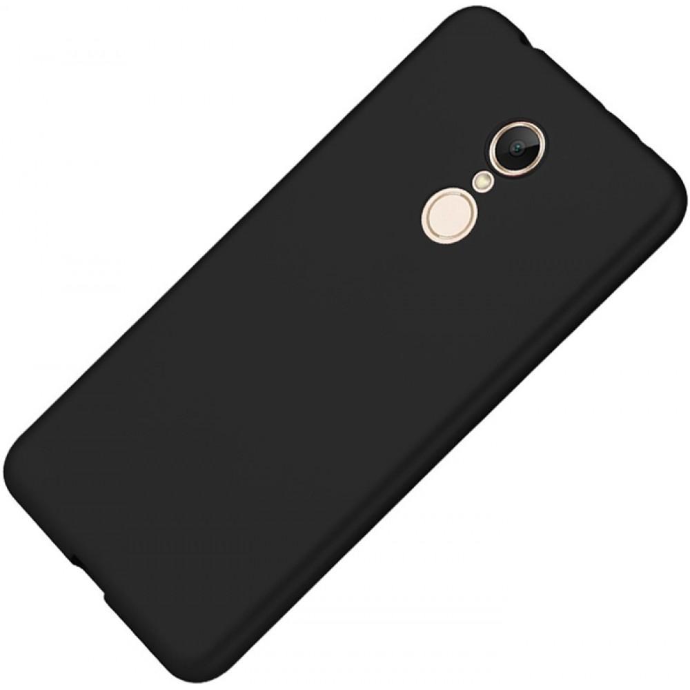 Чехол для Xiaomi Redmi 5, Силиконовый бампер черный