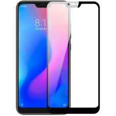 Стекло для Xiaomi Mi A2 Lite с черной рамкой