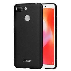 Чехол для Xiaomi Redmi 6 силиконовый черный