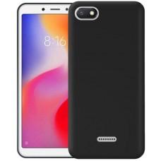 Чехол для Xiaomi Redmi 6A силиконовый черный
