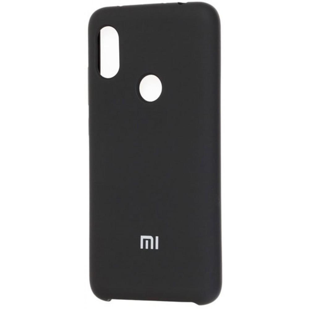 Чехол для Xiaomi Redmi 7 Soft Touch черный