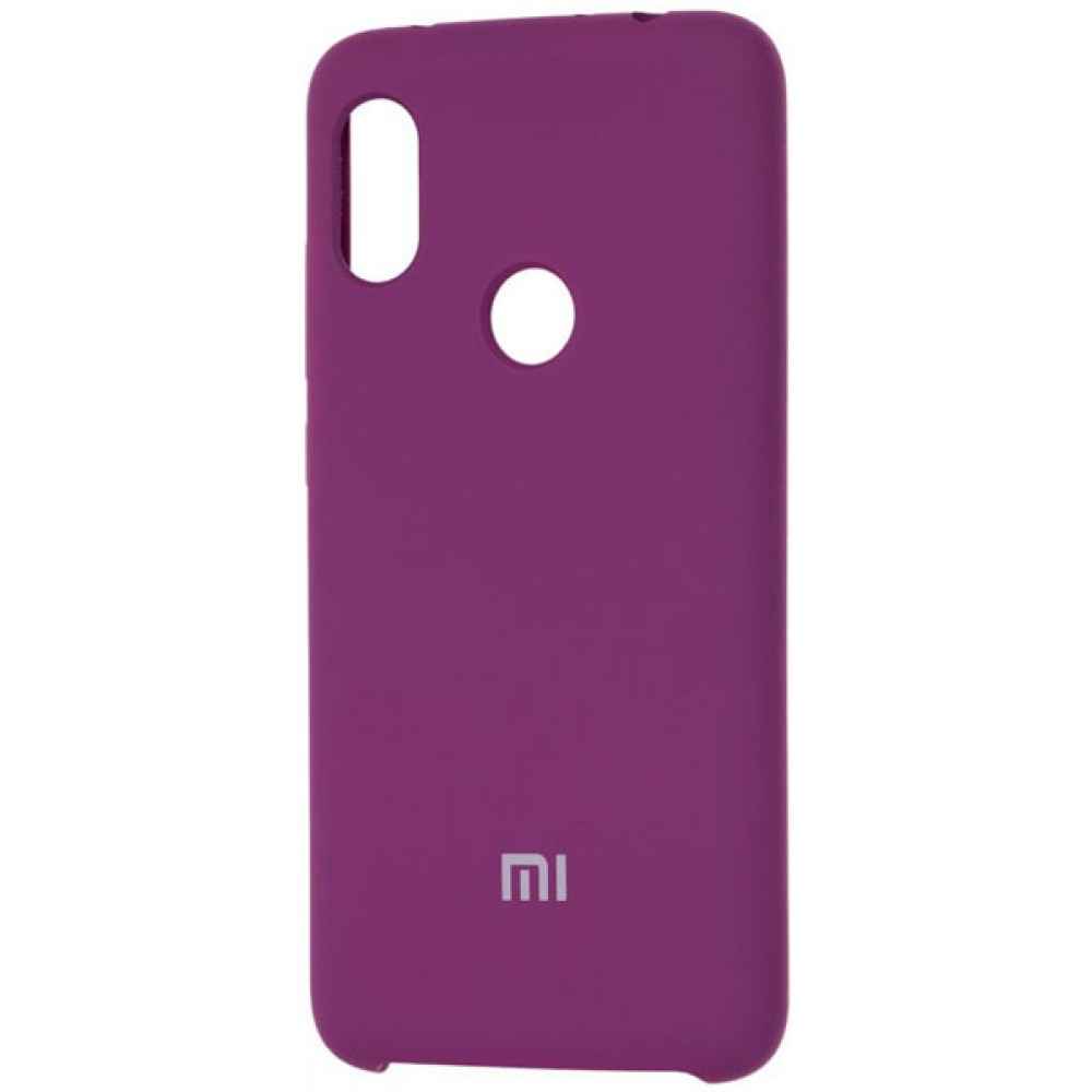Чехол для Xiaomi Redmi Note 7 Soft Touch фиолетовый