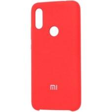 Чехол для Xiaomi Redmi 7 Soft Touch красный