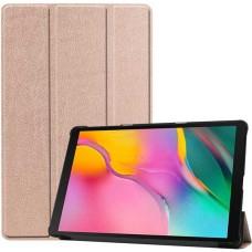 Чехол для Samsung Galaxy Tab A 10.1 2019 золотисто-розовый