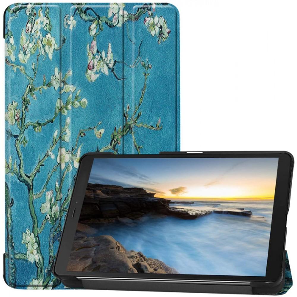 Чехол для Samsung Galaxy Tab A 8.0 2019 с рисунком Apricot Flower