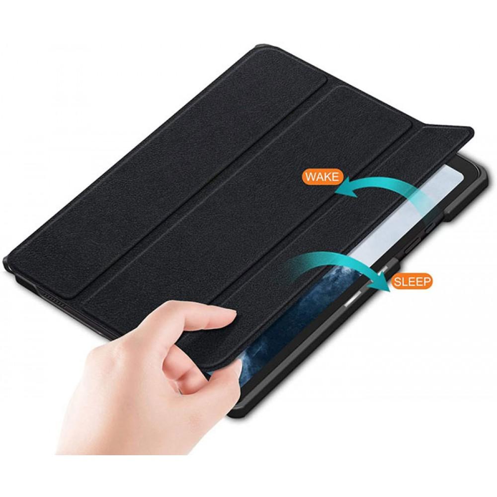 Чехол для Samsung Galaxy Tab A7 10.4 2020 черный полиуретановый
