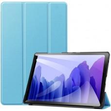 Чехол для Samsung Galaxy Tab A7 10.4 2020 голубой полиуретановый
