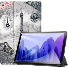 Чехол для Samsung Galaxy Tab A7 10.4 2020 с рисунком Eiffel Tower