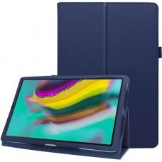 Чехол для Samsung Galaxy Tab S5e 10.5 2019 кожаный синий