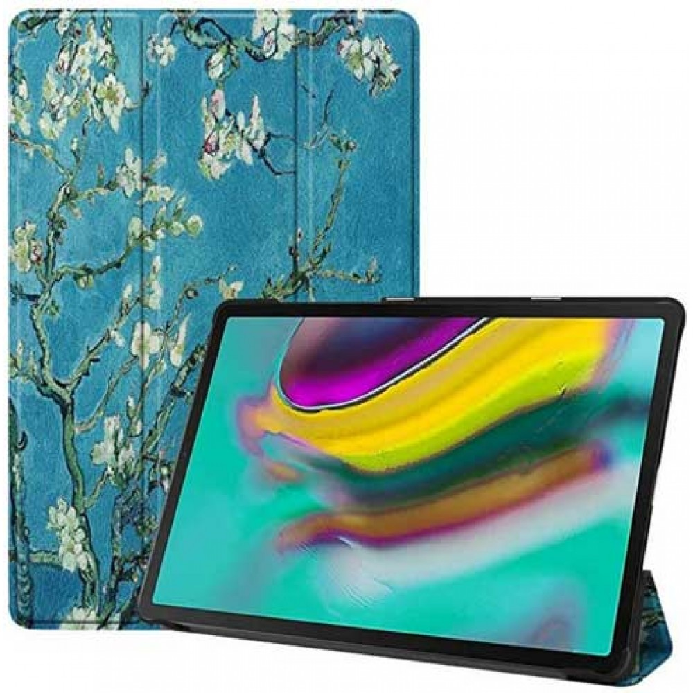 Чехол для Samsung Galaxy Tab S5e 10.5 2019 с рисунком Apricot Flower