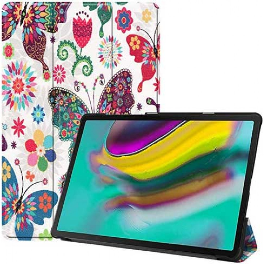 Чехол для Samsung Galaxy Tab S5e 10.5 2019 с рисунком Бабочки