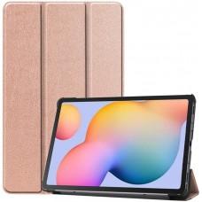 Чехол для Samsung Galaxy Tab S6 Lite золотистый полиуретановый